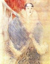 Elsa Vídeňanka. Barevná litografie. 1897. 57×38.