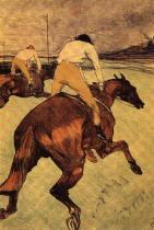 Žokej. Barevná litografie. 52×37. 1899. Soukromá sbírka, Paříž.