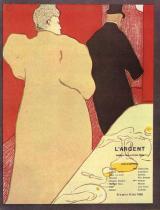 L'Argent. Barevná litografie, plakát. 1893. 32×23,8.