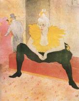 Sedící Cha-U-Kao (z cyklu Ony). Barevná litografie. 1896. 52×40. Národní galerie, Praha.