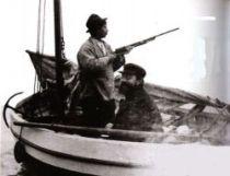 Henri de Toulouse-Lautrec a Maurice Joyant ve člunu, 1899.