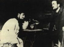 Henri de Toulouse-Lautrec a Lucien Métivet v Mirlintonu.