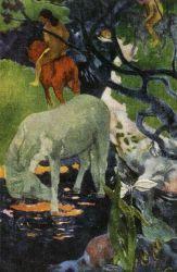 Bílý kůň. Olej na plátně. 1898. 141×91. Louvre, Paříž.