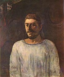 Umělcova podobizna (Na Golgotě). Olej na plátně. 1896. 76×64. Museum de Arte, São Paulo.