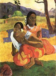 Nafea Faa ipoipo (Kdy se vdáš?). Olej na plátně. 1892. 105×77,5. Kunstmuseum, Basilej.