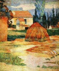 Krajina u Arles. Olej na plátně. 1888. 91,5×72,5. John Herron Art Museum, Indianapolis.