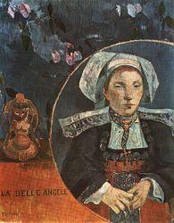 Krásná Angèle. Olej na plátně. 1889. 92×72. Louvre, Paříž.