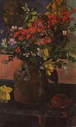 Kytice. Olej na plátně. Asi 1900. 90,5×61,5. Soukromá sbírka, Paříž.