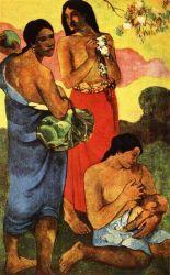 Mateřství. Olej na plátně. 1899. 92,5×60. Sbírka Davida Rockefellera, New York.