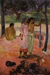 Výzva (L'Appel). Olej na plátně. 1902. 103,2×89,5. Museum of Art, Cleveland.