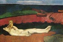 Ztráta panenství. Olej na plátně. 1890 - 91. 89×132. Sbírka Waltera P. Chryslera ml., New York.