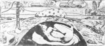 Manao tupapau (Duch smrti bdí).