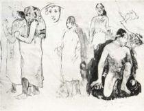 Stránka rukopisu Noa Noa, 1892.