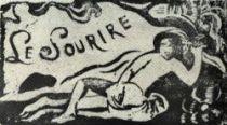 Titulní list časopisu Le Sourire, který Gauguin roku 1899 vydával na Tahity.