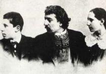 Gauguin s dcerou Aline a synem Emilem.
