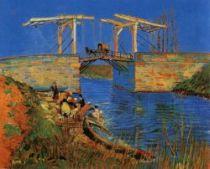 Most v Langlois. 1888. 54×65. State Museum Kröller-Müller, Otterlo.