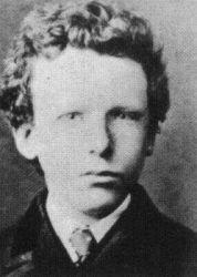 Vincent jako 13-letý.