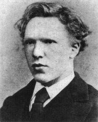 Vincent jako 19-letý.