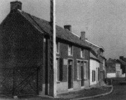 Domek Denisových kde Vincent v Borinage bydlel.