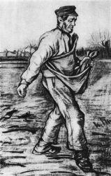 Setí, Haag, prosinec 1882, tužka, štětec a tuš, 61×40, Nadace P. a N. de Boer, Amsterdam.