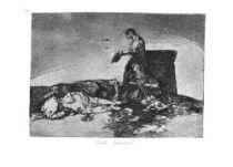 Krutý soucit. (Los desastres de la guerra, č. 48: ¡Cruel lástima!)
