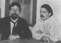 Maxim Gorikij a Anton Pavlovič Čechov