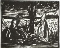 Úrodnost. Dřevořezba. 1898. 42 × 51,9.