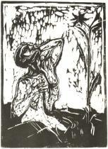 Alegorie. Dřevořezba. 1898. 46,5 × 33.