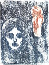 Rouge et noir. Dřevořezba. 1898. 25,2 × 19.
