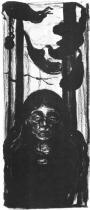 Večer. Litografie. 1897. 35,4 × 14,8.