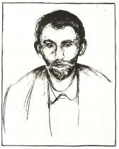 Portrét Stanislava Przybyszewského. Litografie. 1898. 54,2 × 43,7.