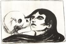 Smrt. Litografie. 1899. 29,5 × 46.