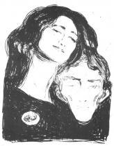 Salome. Litografie. 1903. 40,5 × 30,5.