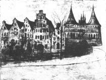 Lübeck. Lept. 1903. 64,2 × 49,6.