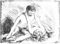 Kočka. Lept. 1913. 24 × 31,5.