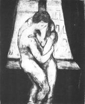 Polibek. Suchá jehla. 1895. 26,5 × 18,8.