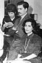Mario Vargas a Julia  Lllanes v roce 1961